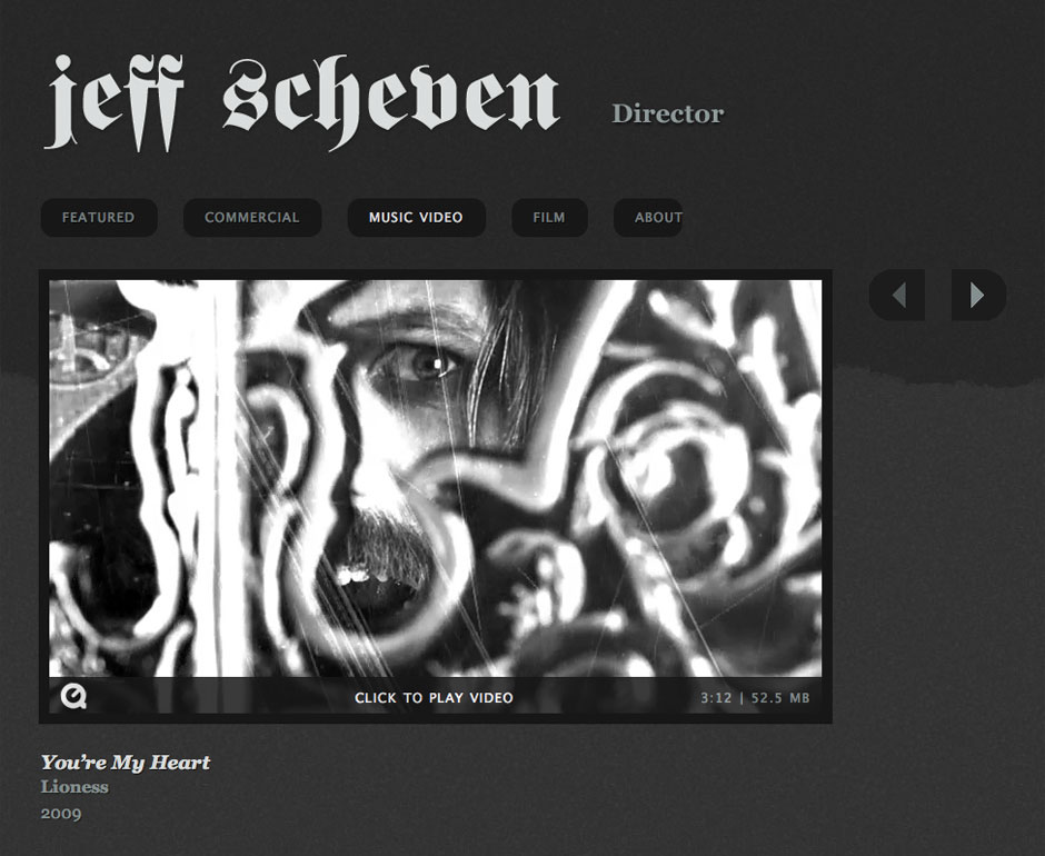 Jeff Scheven website